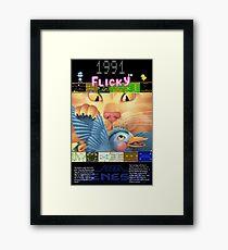 Flicky 1991 Framed Print