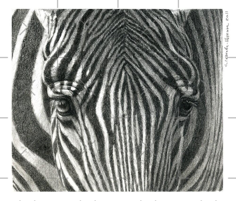 Zebra G2011-017 by schukina by schukinart