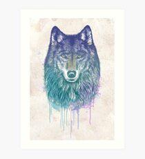 I Dream of Wolf Art Print