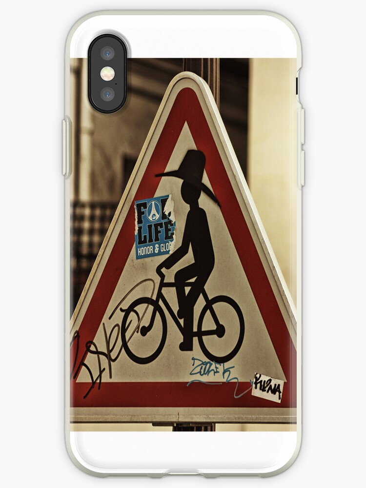 Bikeman Signage - Paris by ddfoto