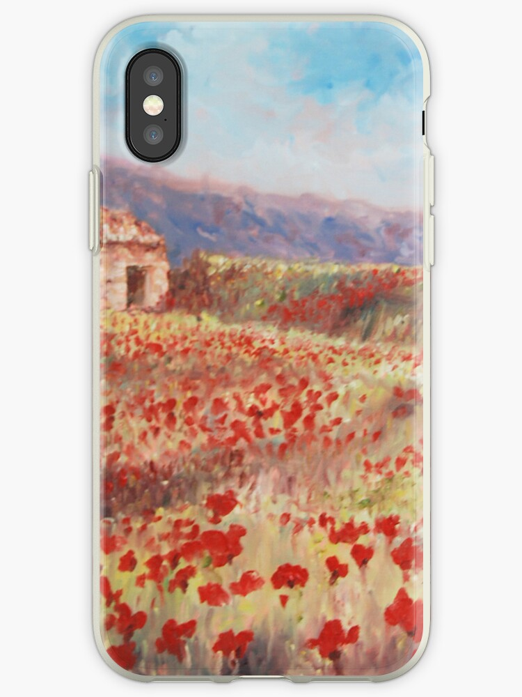 Zoe Webster's Poppy iPhone Case  by arrowella