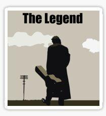Johnny Cash the Legend Sticker