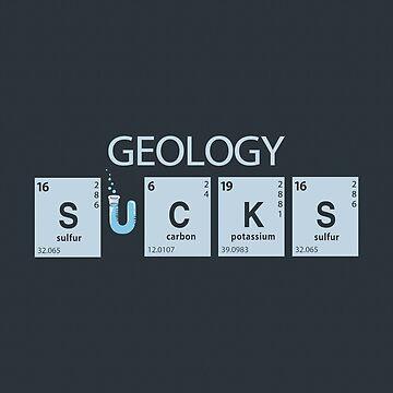 Geologie saugt von BootsBoots