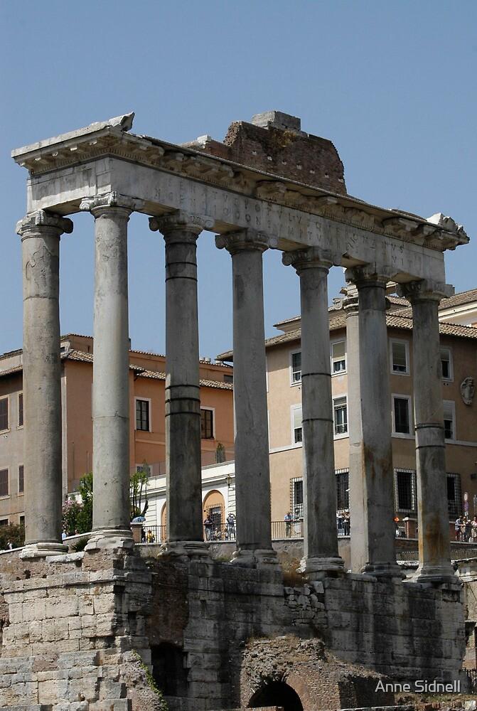 Roman Columns by Anne Sidnell