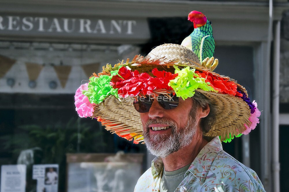 South Pacific Flair ~ Bridport Hat Festival by Susie Peek