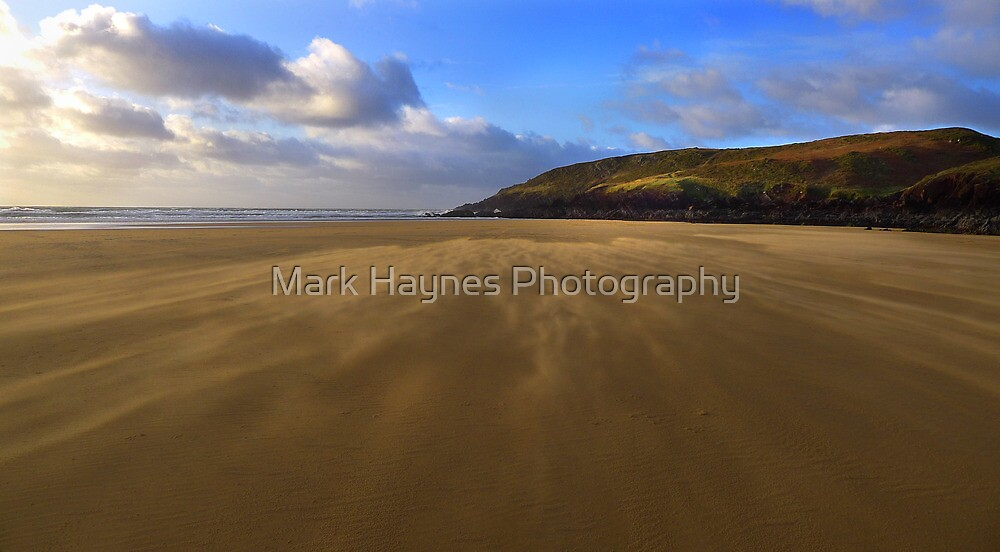 Sandstorm - Deserted Beach by Mark Haynes Photography