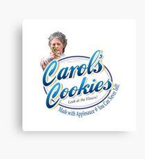 Famous Carol's Cookies Logo Canvas Print