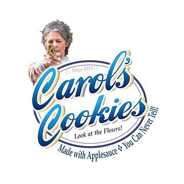 Famous Carol's Cookies Logo by zenjamin