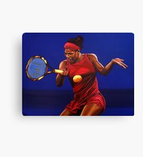 Serena Williams painting Canvas Print