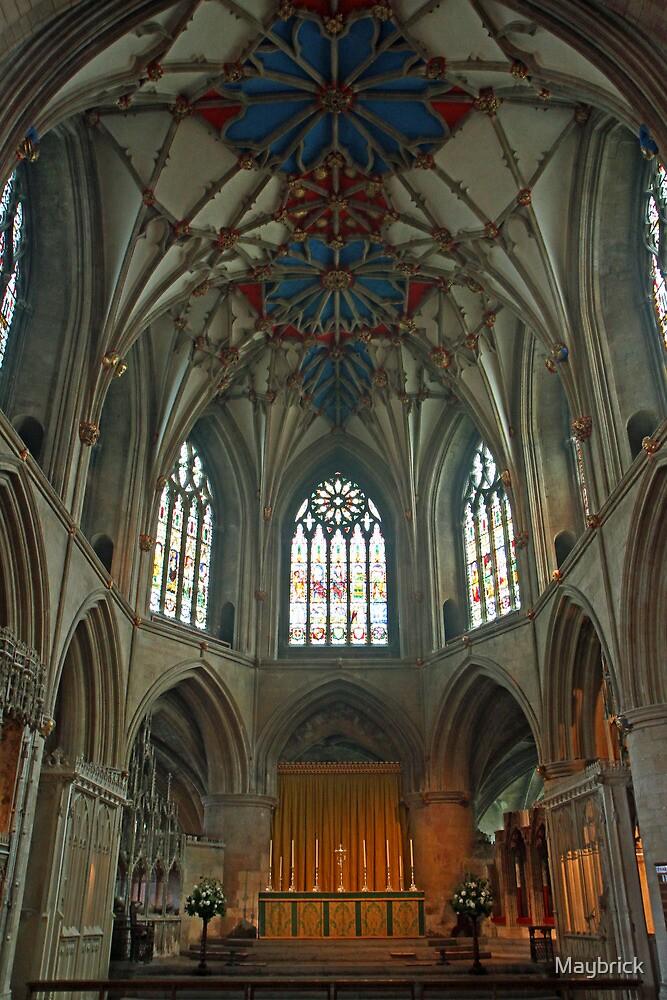 Tewkesbury Abbey. by Maybrick