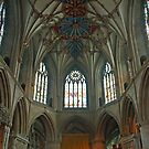 Tewkesbury Abbey. by Maybrick