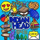 Indischer Kopf von Corey Paige Designs