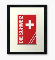 Die Schweiz Framed Print