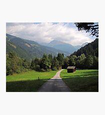 Carinthia, Kärnten, Austria, Photographic Print