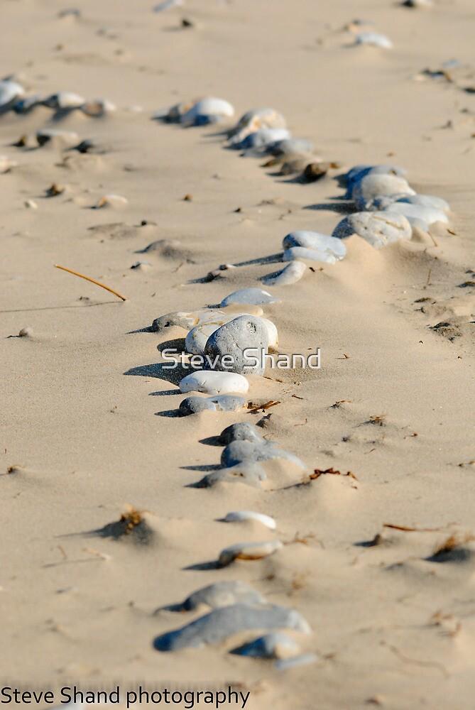 seaside stones by Steve Shand