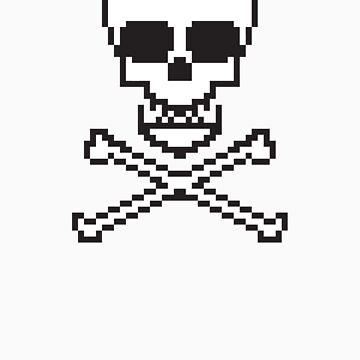 8 Bit Skull by chilipenguin