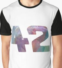 The answer to life, the universe and everything. Graphic T-Shirt