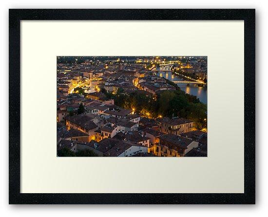 City night by Alberto Zumiani