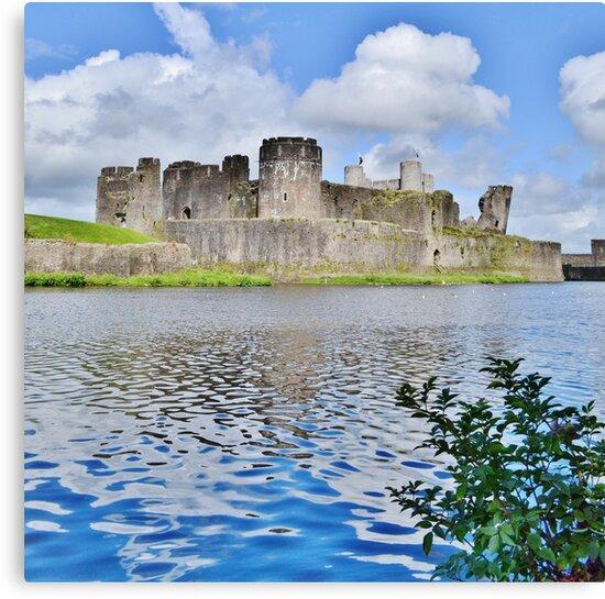 Caerphilly Castle by Paula J James