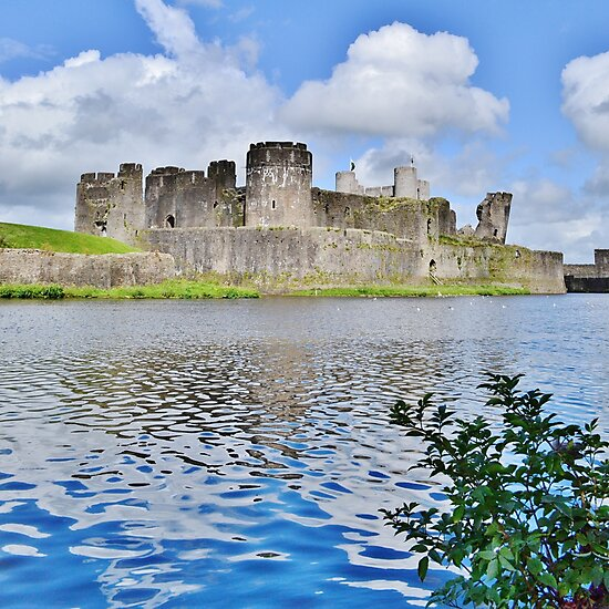Caerphilly Castle by Paula J James