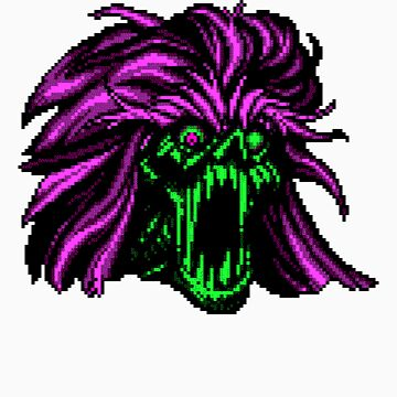 DEMONHEAD (Green) by vgjunk