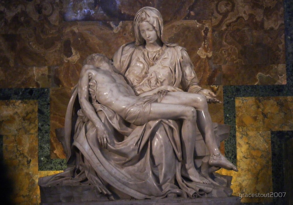 THE PIETA by gracestout2007