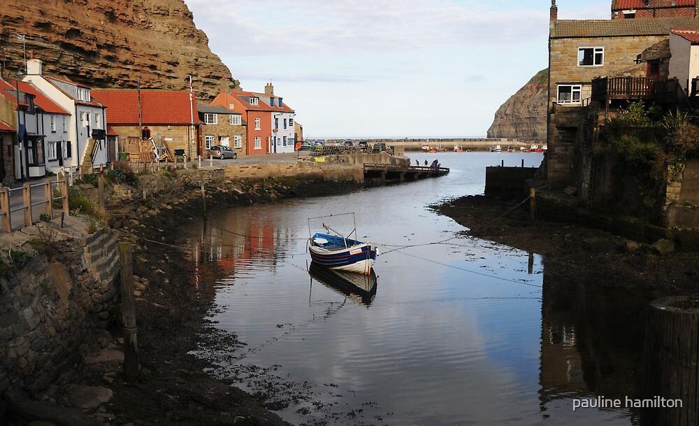 Staithes Harbour by pauline hamilton