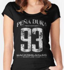 Peña Dura Backbreakers Wrestling Team Women's Fitted Scoop T-Shirt