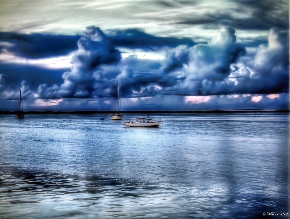 Blue Dawn  by Noble Upchurch
