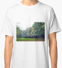 Run little lady run Classic T-Shirt