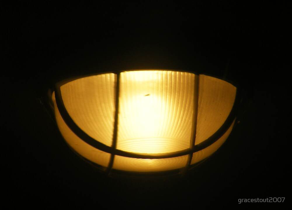 REFLECTED LAMP by gracestout2007