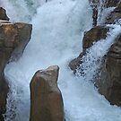 Athatbasca Falls by Dawne Olson