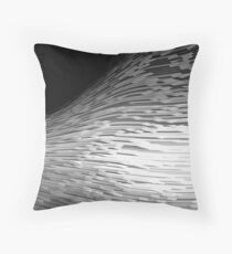 Curve abstract Throw Pillow