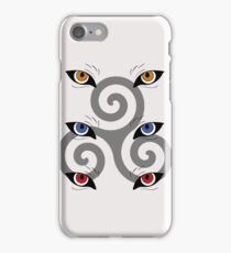 wolf triskele iPhone Case/Skin