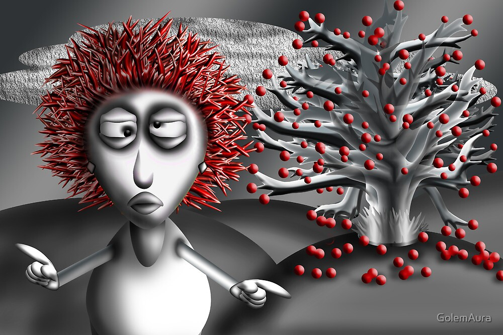 Sally Sweet Chicky Boom Boom by GolemAura