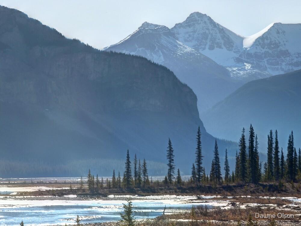 Canadian Rockies by Dawne Olson