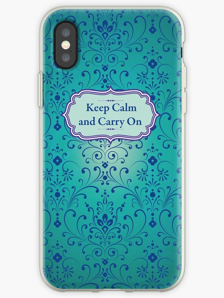keep calm and carry on by sabrina card
