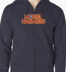 Mostly Harmless Zipped Hoodie