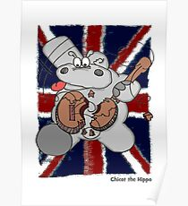 Hippo Union Jack Thrash Poster