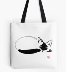 siamese sleeping Tote Bag