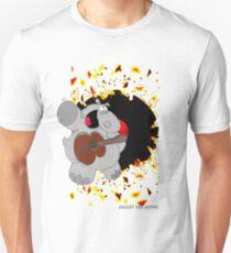 Hippo Exploding Record Unisex T-Shirt