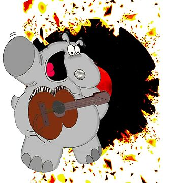 Hippo Exploding Record by Chicot