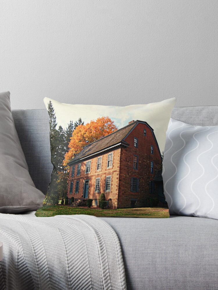 Dey Mansion In October by Jane Neill-Hancock