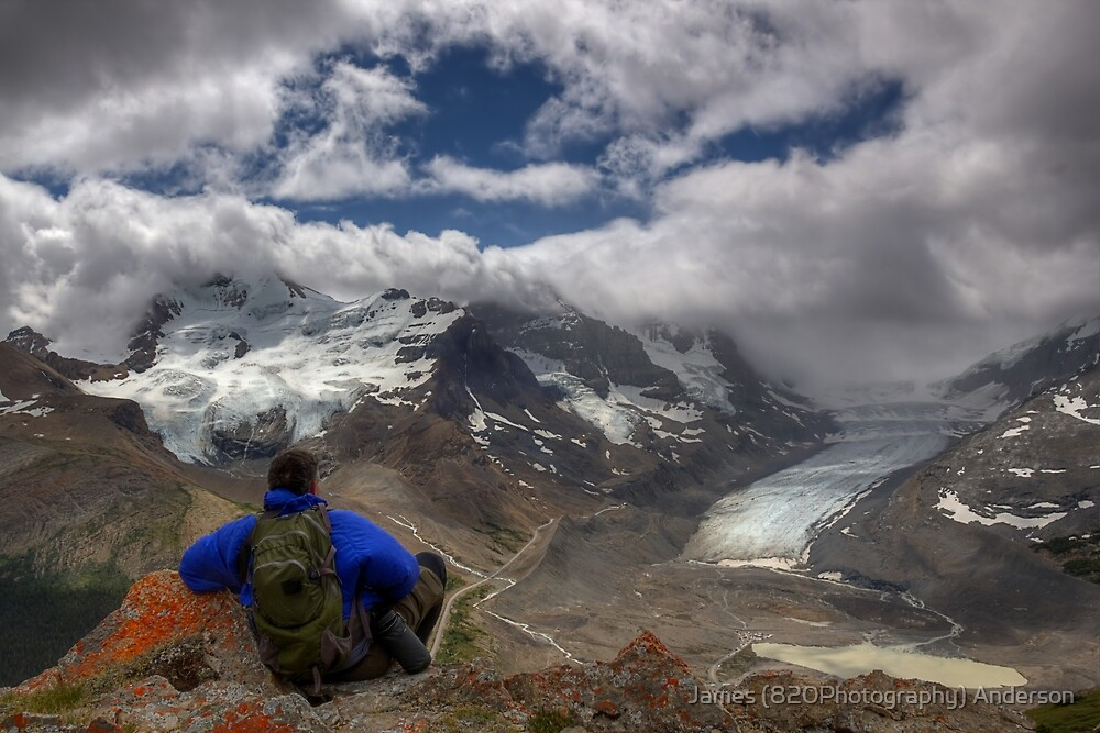 Glacial View! by James Anderson