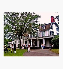 The Ringwood Manor on July 4th Photographic Print