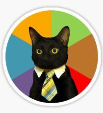 Business Cat Sticker