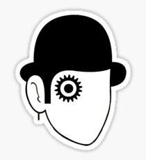 A Clockwork Sketch  Sticker