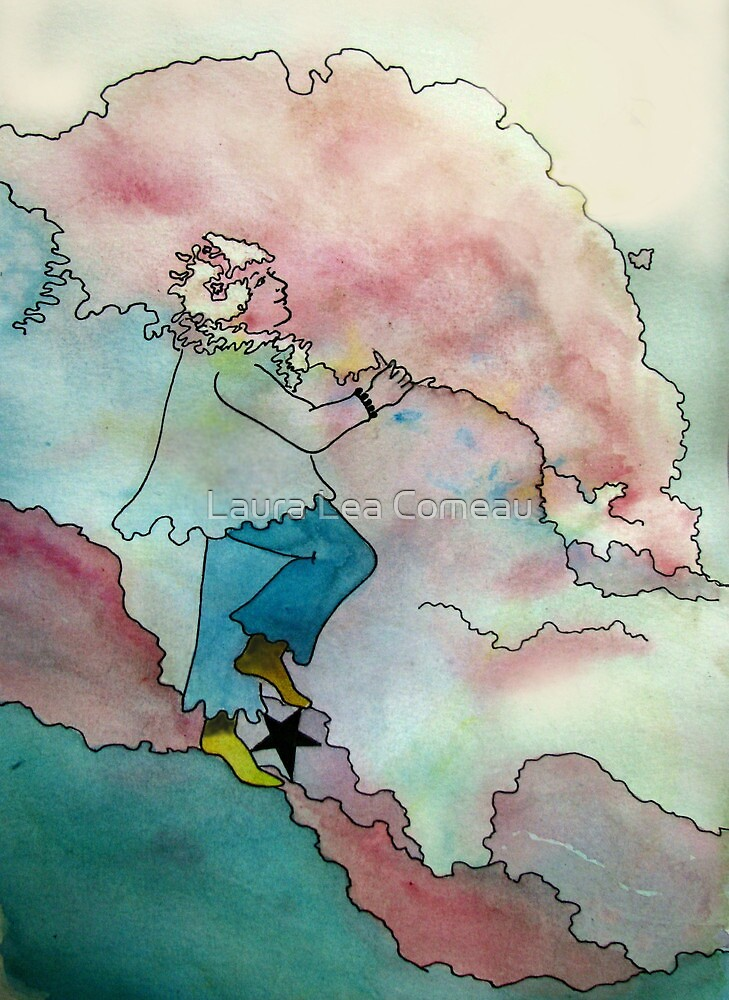 Cloud Riding by Laura Lea Comeau