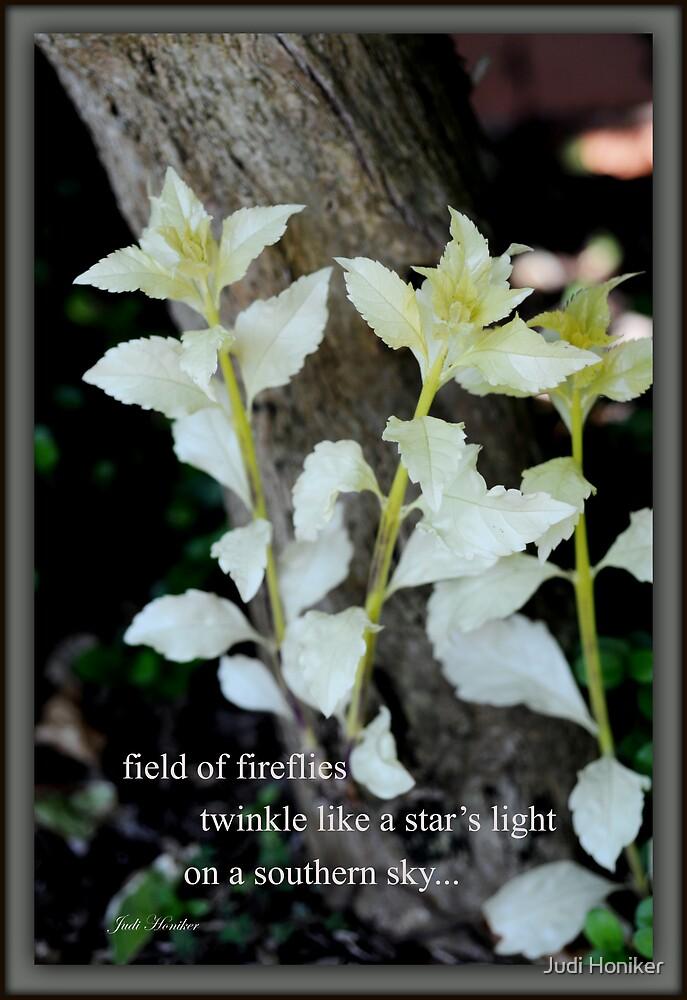 Field of Fireflies by Judi Honiker