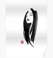 japanese woman Poster